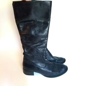 Born leather riding boots